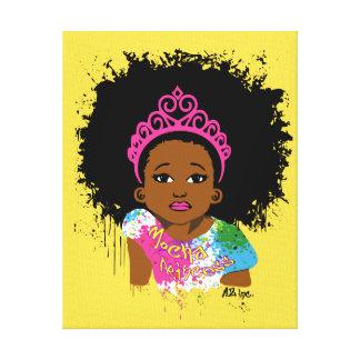 Mocha Princess Canvas Art