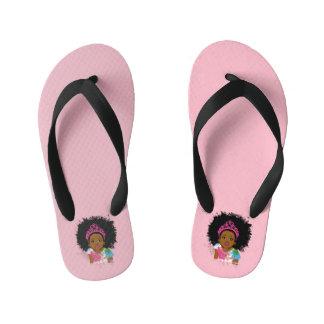 Mocha Princess Flip Flops