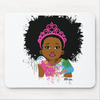 Mocha Princess Mouse Pad