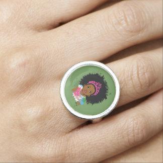Mocha Princess Ring