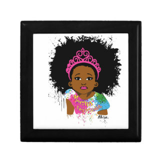 Mocha Princess Small Square Gift Box