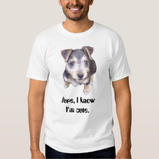 mocha pup tshirt