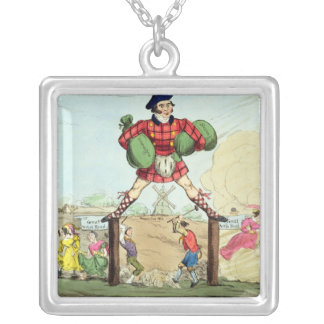 Mock-Adam-izing: the Colossus of Roads Silver Plated Necklace