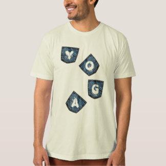 Mock Denim Pockets - Organic Yoga Shirt