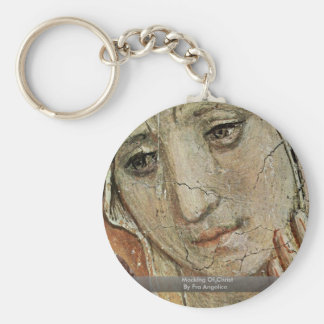 Mocking Of Christ By Fra Angelico Key Chains