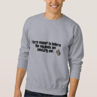 Mocking Squirrels Sweatshirt