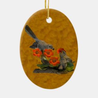 Mockingbird (Arkansas, Florida, Mississippi,Texas) Christmas Ornament