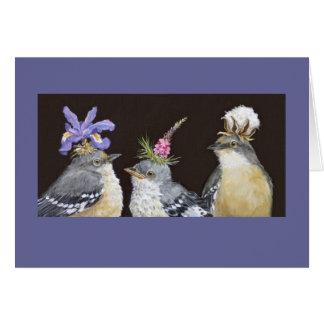 Mockingbird family card
