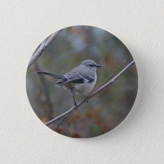 Mockingbird Ornithology 6 Cm Round Badge