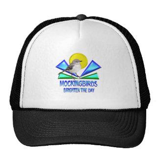 Mockingbirds Brighten the Day Trucker Hat