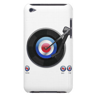 Mod 45 vinyl record player iPod Case-Mate case