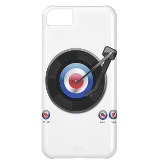 Mod 45 vinyl record player case for iPhone 5C