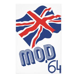 Mod 64 customized stationery