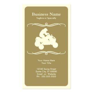mod atv business card template