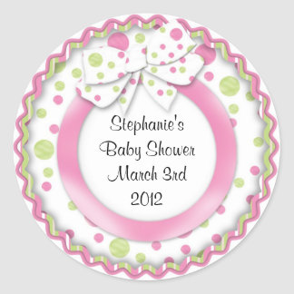 Mod Baby Cupcake Stickers