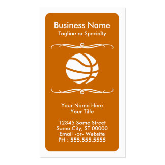 mod basketball loyalty card pack of standard business cards