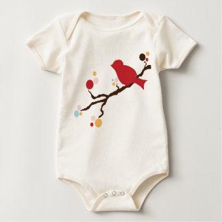 Mod Bird Baby Bodysuits