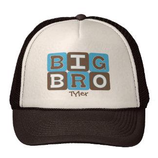 MOD Blocks Big Bro - Blue & Brown Personalized Cap