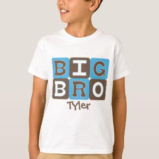 MOD Blocks Big Bro - Blue & Brown Personalized T Shirt
