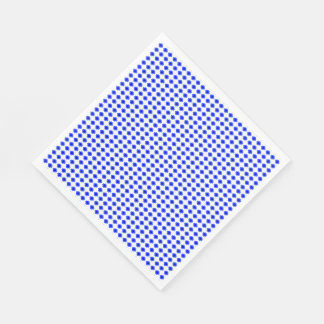 MOD-BLUE-FLORAL-FRESH--NAPKIN-DECOR PAPER NAPKIN