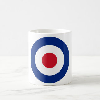 MOD Blue Red and White Coffee Mug | MOD Gifts