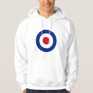 MOD Blue Red and White Hoodie   MOD Casual Gifts