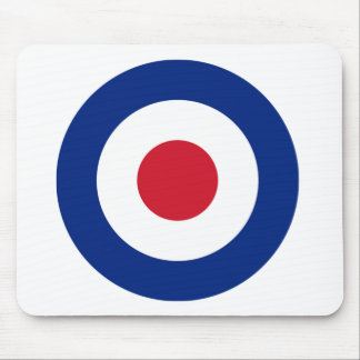MOD Blue Red and White Mouse Pad | MOD Gifts