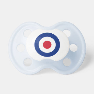 MOD Blue Red and White Pacifier | MOD Baby Gifts