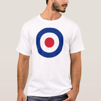 MOD Blue Red and White t shirt