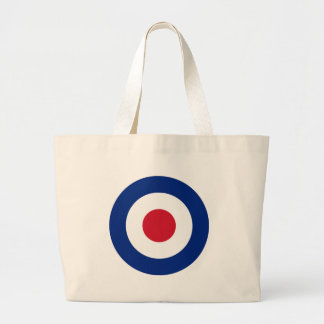 MOD Blue Red and White Tote Bag | Casual MOD Gifts