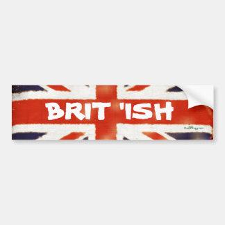 Mod BRIT 'ISH Bumper Sticker