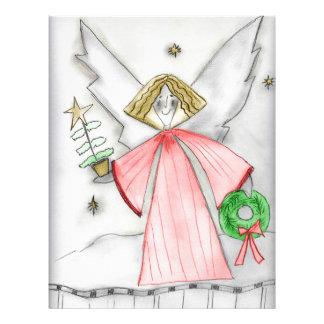 Mod Christmas Angel 21.5 Cm X 28 Cm Flyer