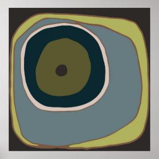 Mod Circle 1 - Art Print