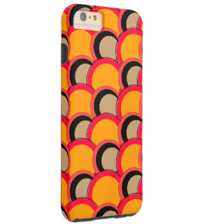 Mod Circles Orange iPhone 6/6s Plus Tough iPhone 6 Plus Case
