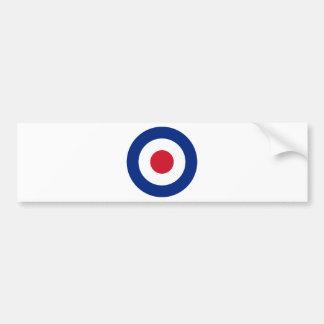 Mod - Classic Roundel - Bullseye Archery Target Bumper Sticker