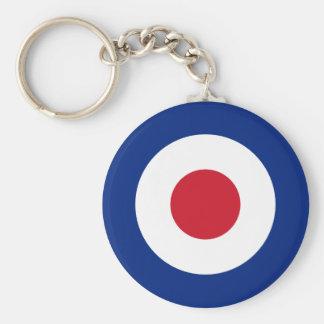 Mod - Classic Roundel - Bullseye Archery Target Key Ring