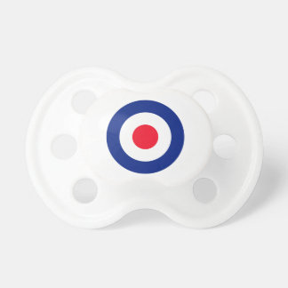 MOD Classic Roundel Target Graphic Pacifiers