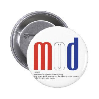 Mod_Cons 6 Cm Round Badge