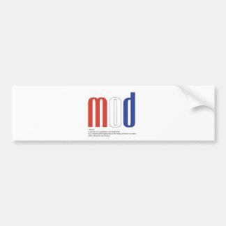 Mod_Cons Bumper Sticker
