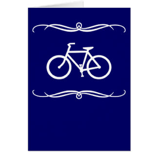 mod cycling greeting card