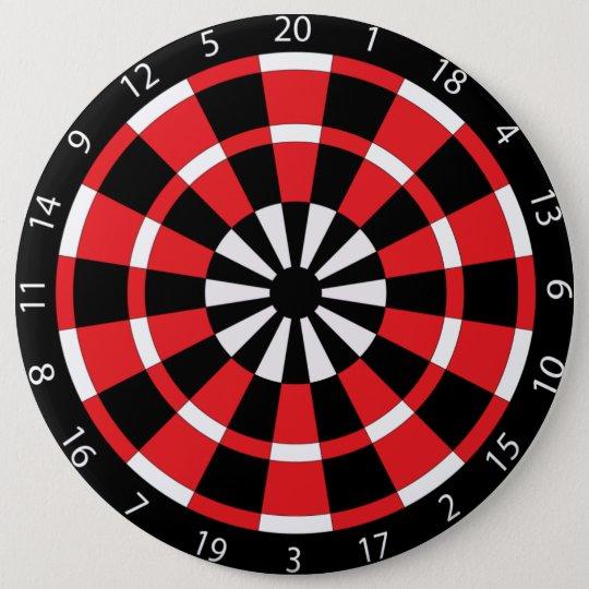 Mod Dartboard 6 Cm Round Badge
