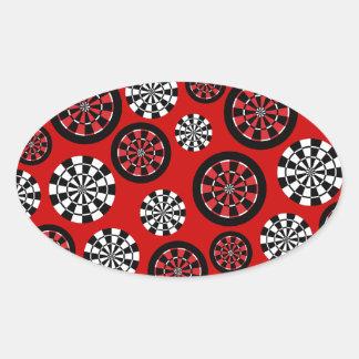Mod Dartboards Oval Sticker