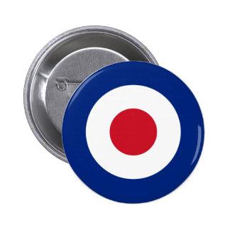 MOD Fashion British Design Badge - Scooter / Vespa
