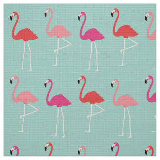 Mod Flamingos Fabric