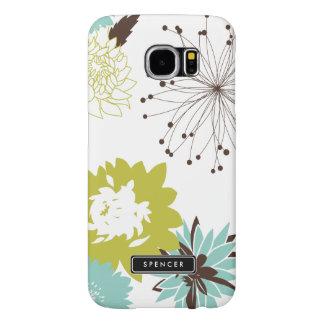 Mod Floral Pattern Custom Samsung Galaxy S6 Case