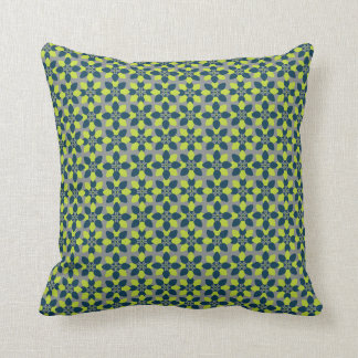 Mod Flower Lime Cushion