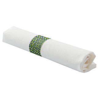 Mod Flower Lime Napkin Ring