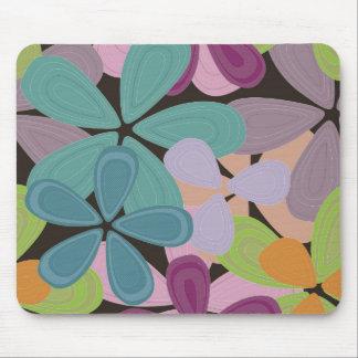 Mod Flower Petals Mousepad