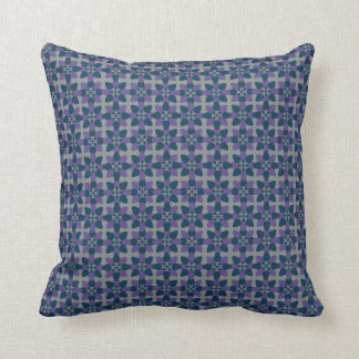 Mod Flower Violet Cushion