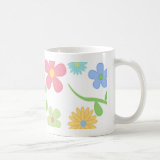Mod Flowers Coffee Mug